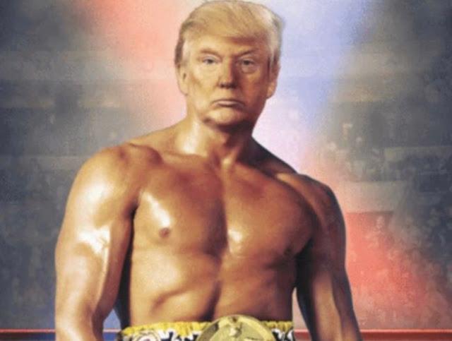 Ο Τραμπ ανάρτησε φωτογραφία του ως... Ρόκι Μπαλμπόα