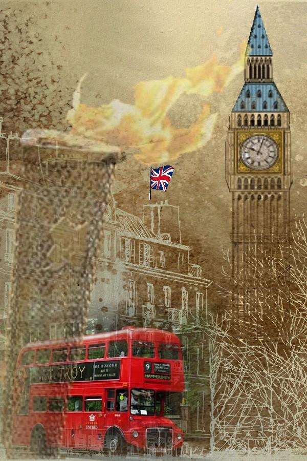 Фото лондона открытки, надписью встреча друзей