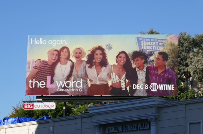L Word revival series billboard