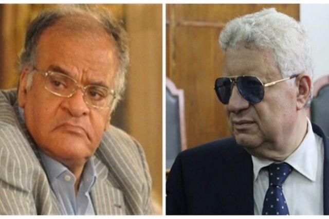 ممدوح عباس يطيح بـ مرتضى منصور من الزمالك