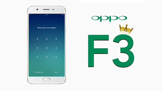 Rom cứu máy Oppo F3 (CPH1609)