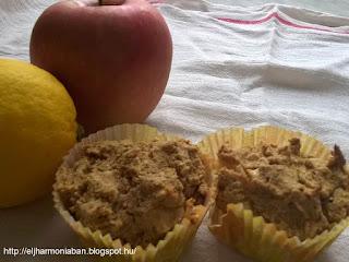 kókuszlisztmuffin, almás gluténmentes muffin, gluténmentes muffin, almás gluténmentes, alma kókuszliszt