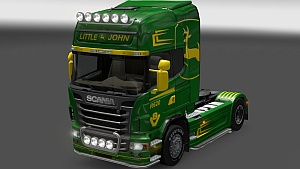John Deere skin for Scania R