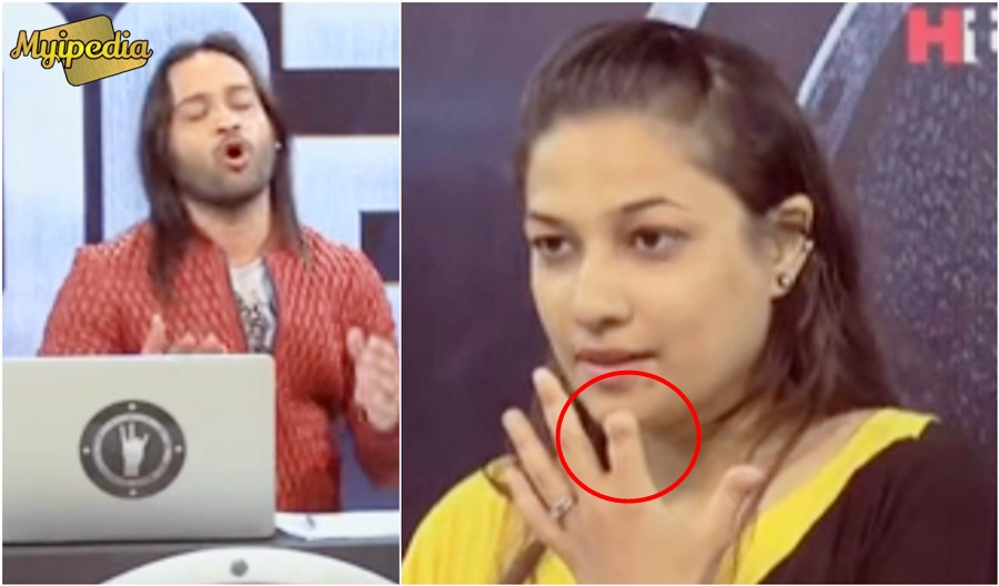 A Cut Her Pointing Finger For Waqar Zaka