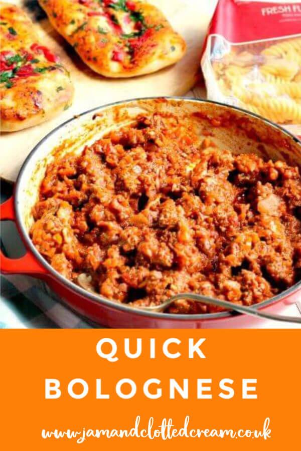 Quick Bolognese #bolognese #quickrecipe #familyrecipe