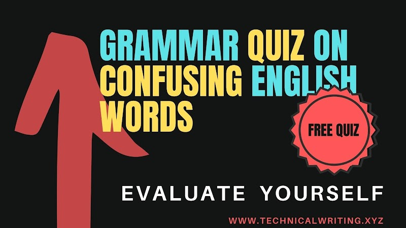 Confusing words of English || MCQ Quiz