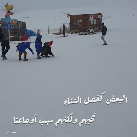 Some are like winter  ( البعض ُ كفصل ِ الشتاء ِ )