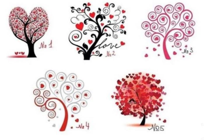 Выберите дерево любви, чтобы узнать, какой партнер вам нужен