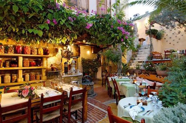 Restaurantes de lua de mel em Creta