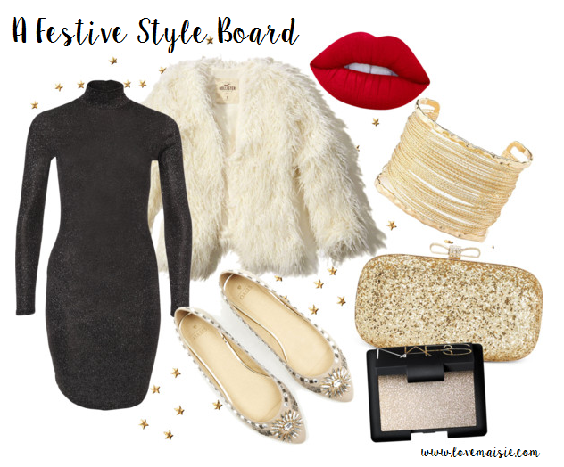 A festive Style Board | Love, Maisie
