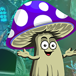 Games4King Cartoon Mushroom Escape