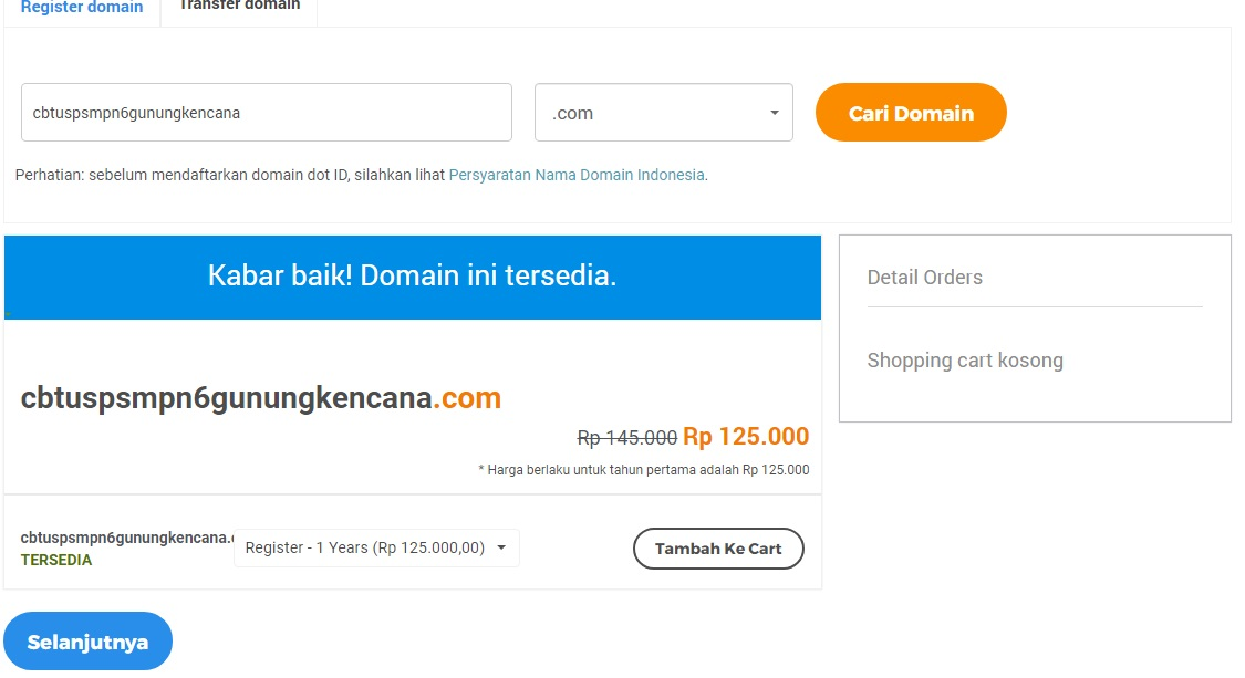 27+ Akses hosting tanpa domain info