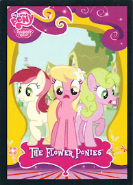 My Little Pony The Flower Ponies Series 2 Trading Card