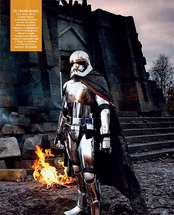 Details Captain Phasma Star Wars