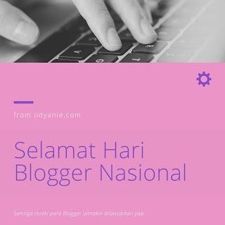 hari blogger nasional 2020