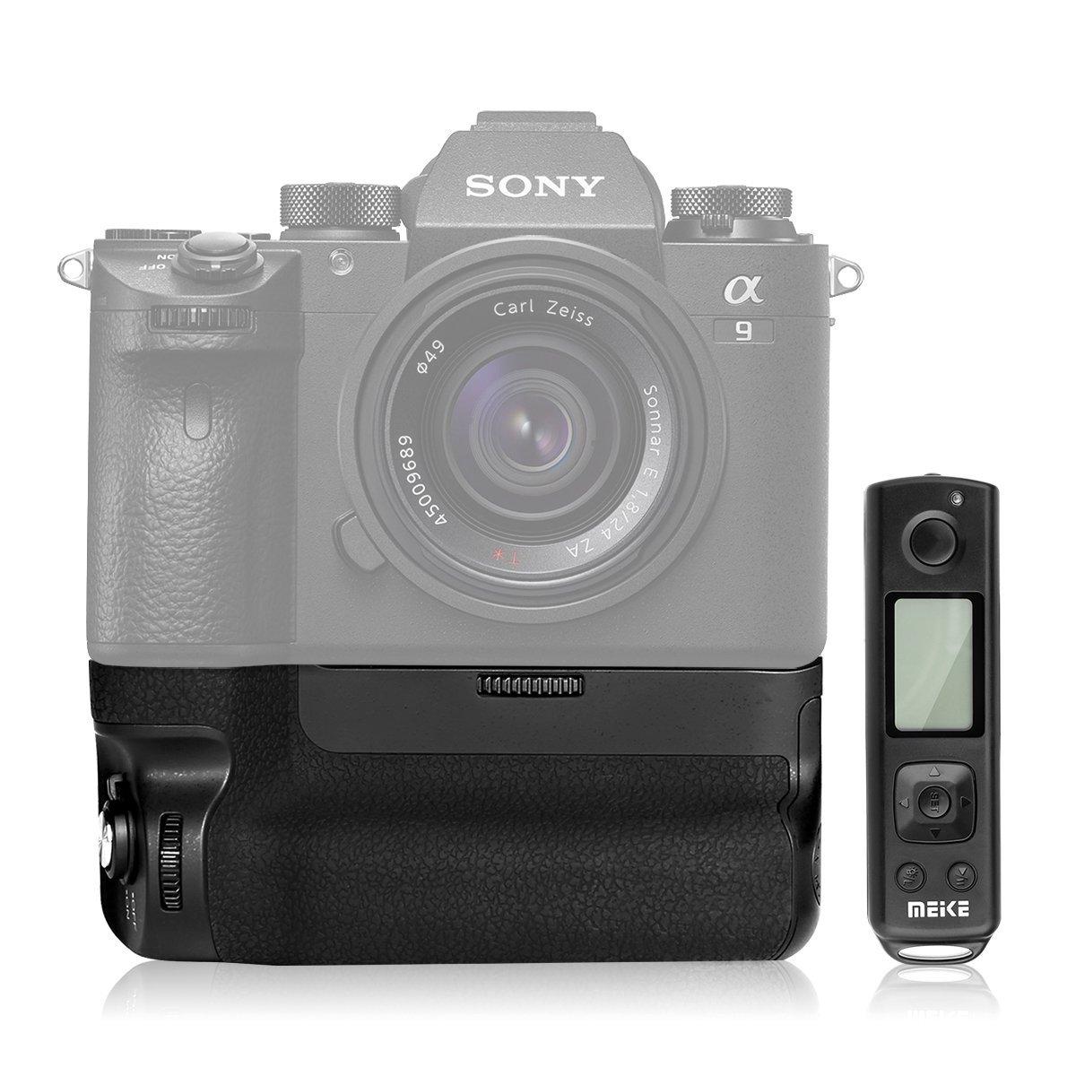 Батарейный блок Meike MK-A9 с камерой Sony A9