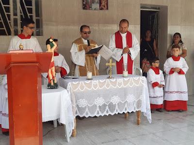 Festa do Padroeiro em SS do Umbuzeiro teve tradicional Missa do Vaqueiro nesta quinta