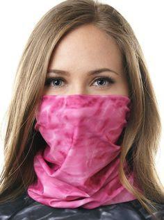 Lenços, bandanas e cachecois podem ser usados como proteção facial