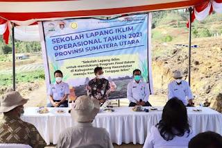 BMKG Deliserdang Gelar SLI Operasional di Humbahas, Wakil Bupati: Pemkab Siap Mendukung dan Mensukseskan