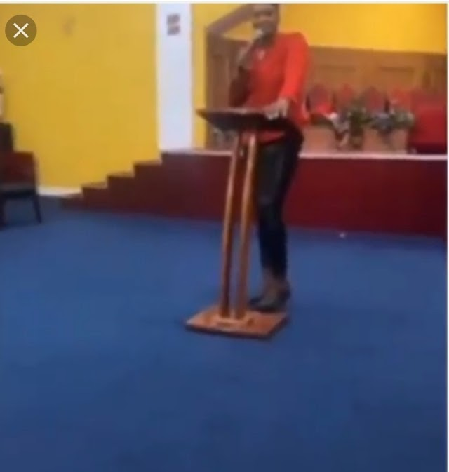 You're a devil' God will punish you – Pastor curses members for not donating towards her birthday celebration (video)