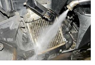 Cara Mencegah Mesin Sepeda Motor Overheat