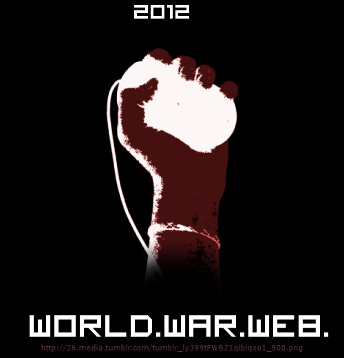 Logo de la llamada «World War Web»