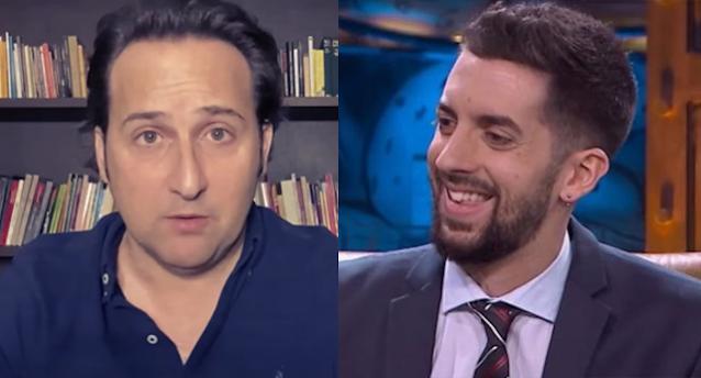 Iker Jiménez y David Broncano