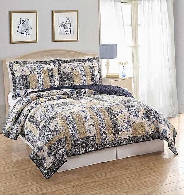 Dumont Bedroom Set King: Blanket Warehouse: Quilts: Not Your Grandma's Patchwork