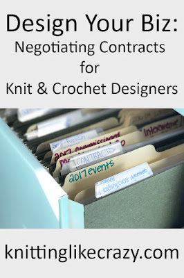 Knitting Like Crazy: Negotiating Contracts for Knit & Crochet Designers