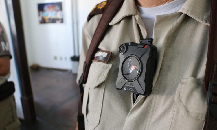 SSP/BA inicia testes de câmeras acopladas em fardas de policiais