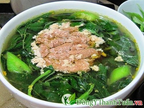 Món ăn nhuận tràng, chữa đau dạ dày từ rau đay