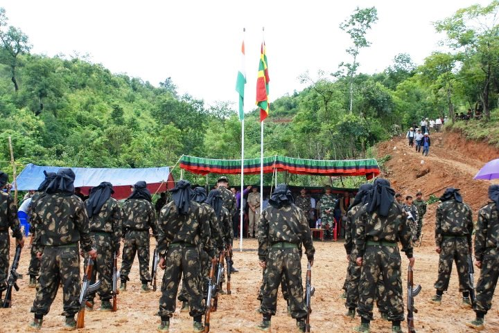 PhualvaTimes Photo Blog: ZRA, ZRO - Zomi Revolutionary Army, Zomi  Re-unification Organisation cadres