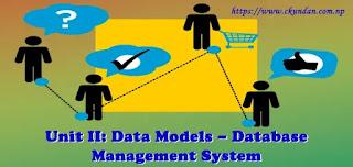 Data Models – Database Management System