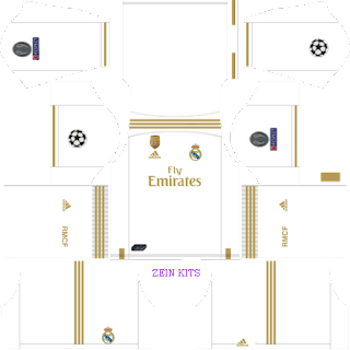 Kits DLS Real Madrid UCL 2019/2020