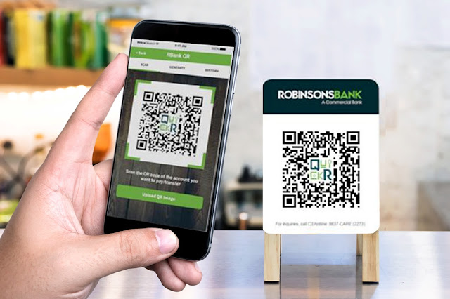 Robinsons Bank is introducing the RBank Biz Portal and RBank QuickR QR Code capability