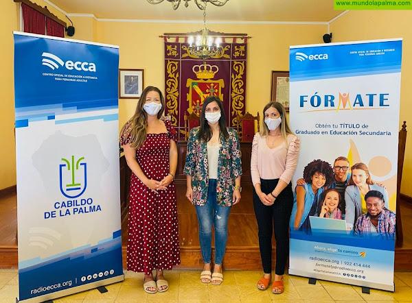 El Ayuntamiento de San Andrés y Sauces refuerza su alianza con Radio ECCA para favorecer la formación de los desempleados