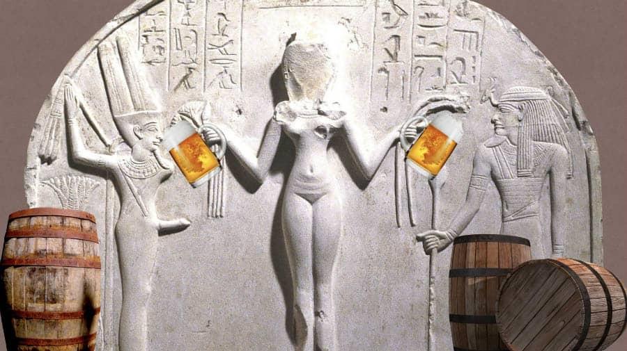 sümer mitolojisi, Sümerler, Biranın tarihçesi, Antik dönemde bira ve alkol, Ninsaki, Bira tanrıçası Ninsaki, Sümer tabletlerinde biranın yapılışı, Eski toplumlarda bira, Sümer efsaneleri, Sümer tabletleri,