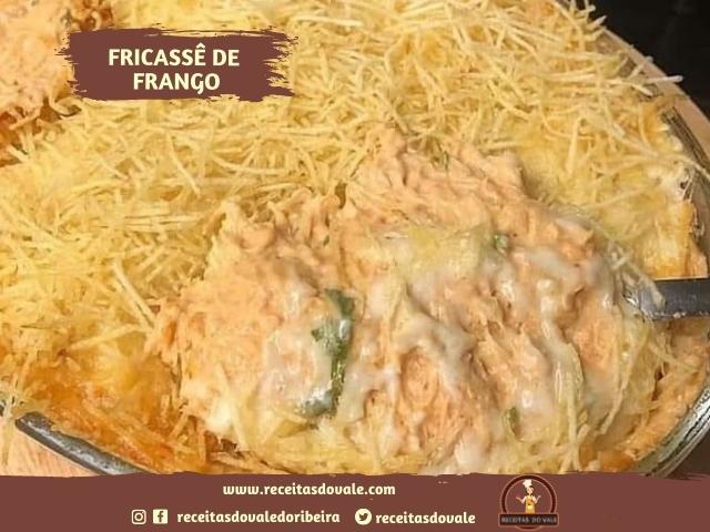 Receita de Fricasse de Frango