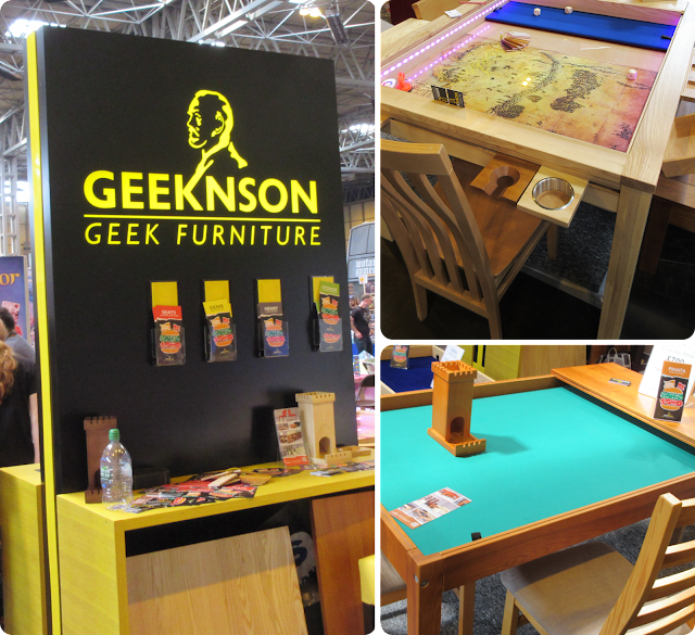 Geeknson Furniture - UK Games Expo 2016