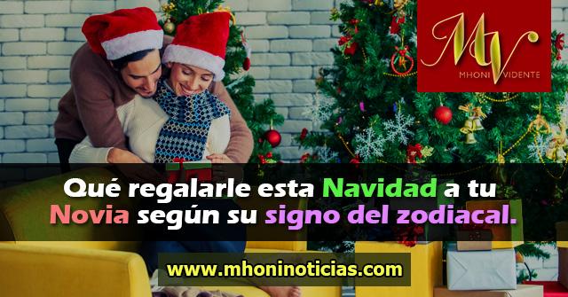 Qué regalarle esta Navidad a tu Novia según su signo del zodiacal.