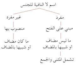 تحضير درس لا النافية للجنس في اللغة العربية للسنة الثالثة متوسط