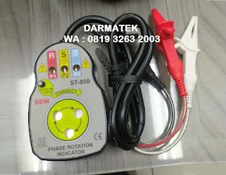 Darmatek Jual SEW ST850 Indikator Urutan Fase (Tipe Kontak) - Alat Instrument
