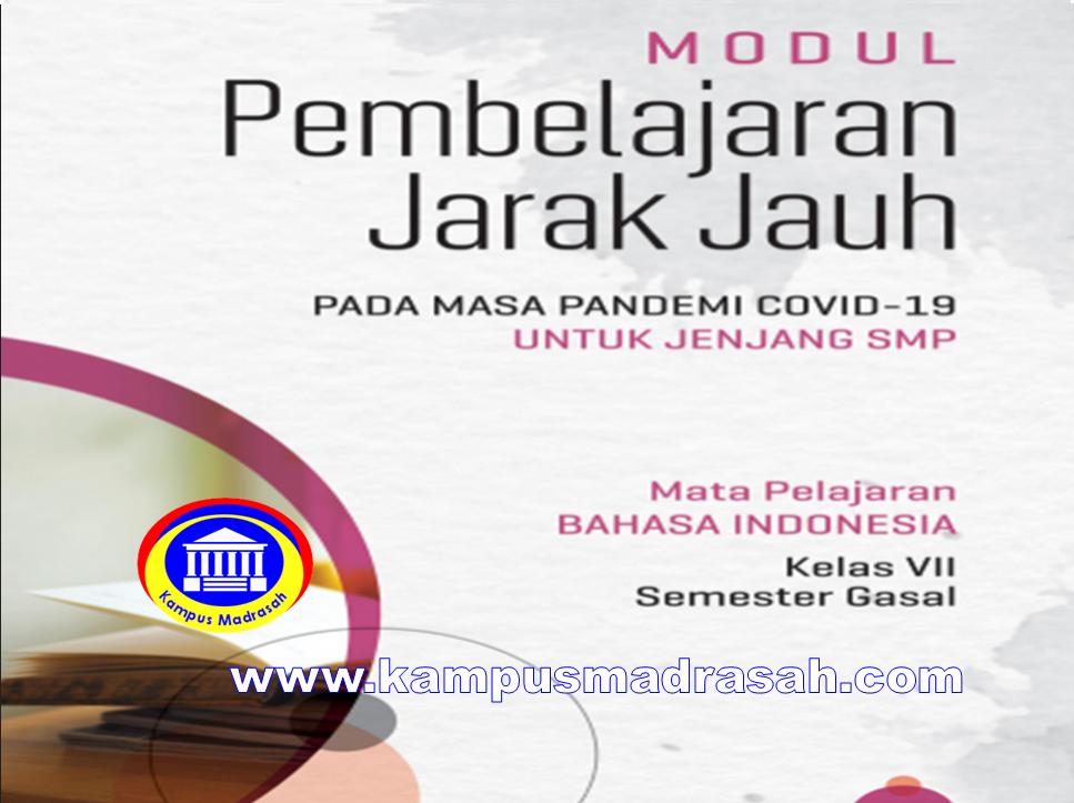 Modul Pembelajaran Daring  Bahasa Indonesia