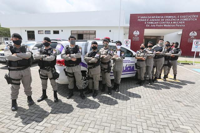 Patrulha dentro de Juizado é resposta do TJ/AL à violência doméstica em Alagoas