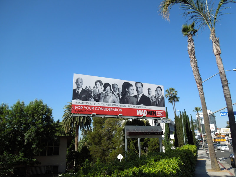 Mad Men For your consideration billboard