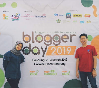 blogger day 2019 lineation stress management bars febtarinar.com rara febtarina