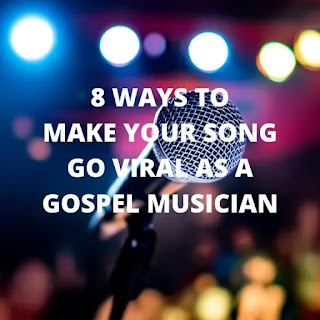 "There are hundreds of gospel songs or videos released on the internet every single day. Each of these artistes behind each song or video are struggling for one thing in common ""Making their Song/Art go viral"" which makes the competition even more tight and high."