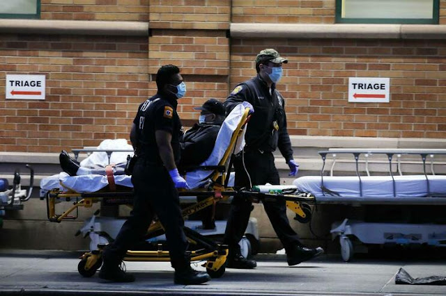 Covid-19 | EUA registam pior recorde mundial diário de mortes: 1169 em 24 horas