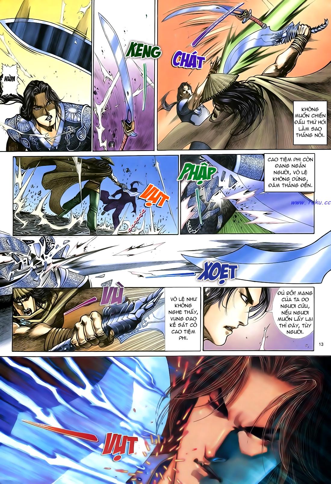 Anh hùng vô lệ Chap 21 trang 14