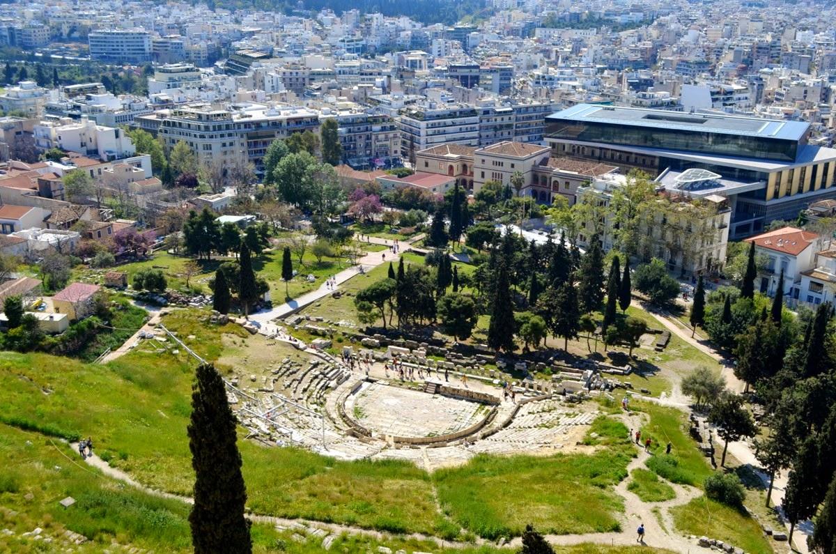 Ateny, Athens, Αθήνα- podróż w czasie